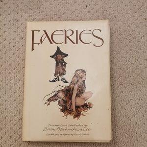 Vintage 1979 faeries book
